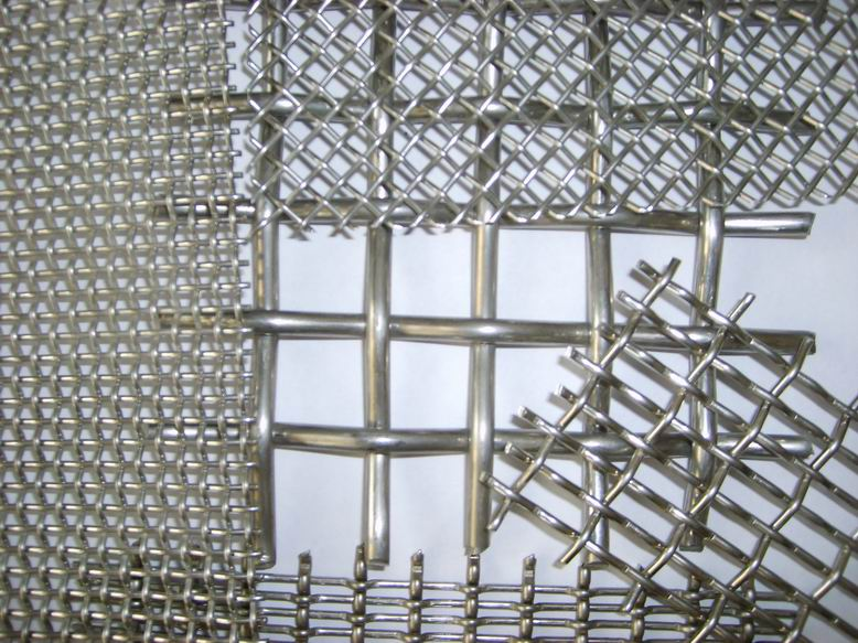 Crimped Wire Mesh/stainless steel wire mesh/stainless steel square mesh