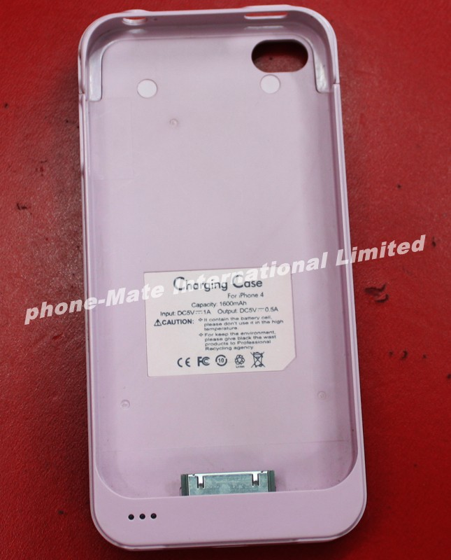 Good quality durable Li-on battery charging case for iphone