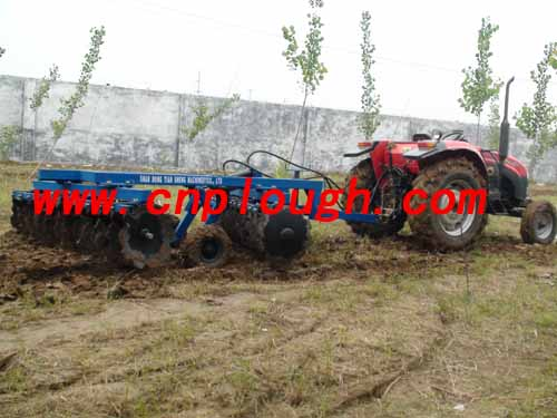 agricultural machinery and disc harrow