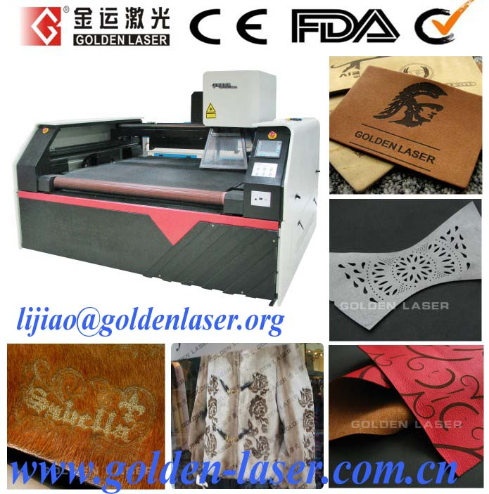 CO2 150W Laser Cutting Engraving Machine For Leather