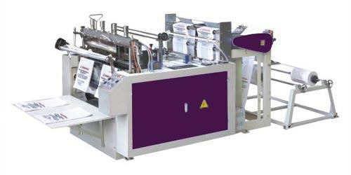 GD-400x2 Computer heat-sealing&heat-cutting bag-making machine