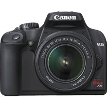 Canon EOS Rebel XS Digital SLR Camera with EF-S 18-55mm IS lens (Black)