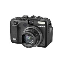 Canon Powershot G12 Digital Camera - Replace Canon G11 (Black)