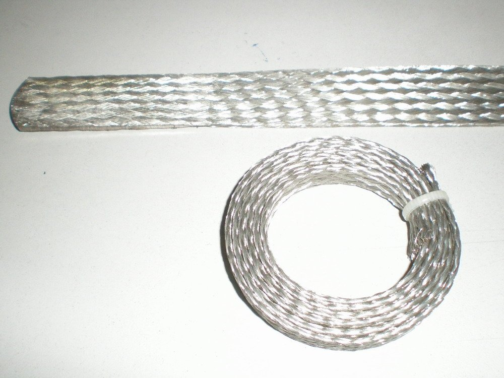 tinned flexible braided copper wire