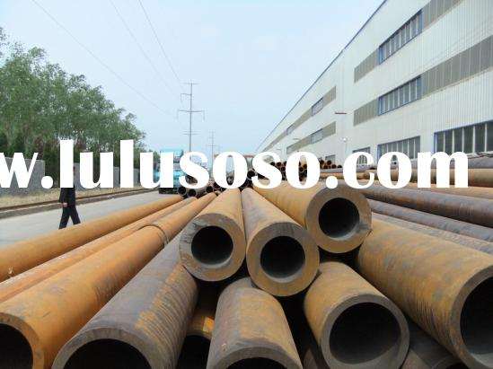 Large diameter thick wall seamless steel pipe