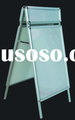 frame display,A board,A frame,poster display,display stand
