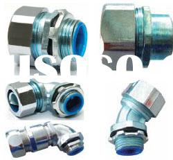Metal flexible cable conduit fittings, Metal flexible cable pipe fittings