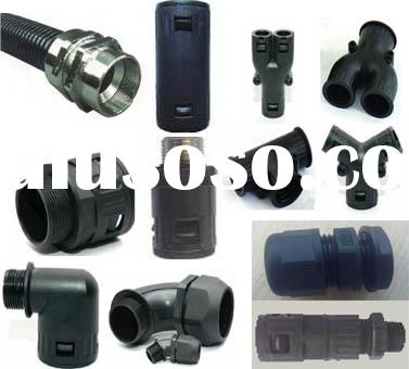 Polyamide flexible cable conduit fittings, Nylon flexible cable conduit fittings