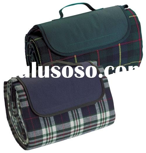picnic rug/picnic blanket/blanket/camping mat/travel blanket made from polyester fleece with waterpr