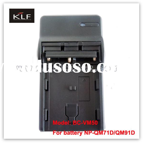 Camera Charger VM50 for Sony camera battery QM91D