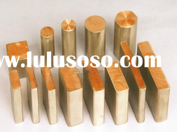 Stainless Steel 316L Clad Copper bar