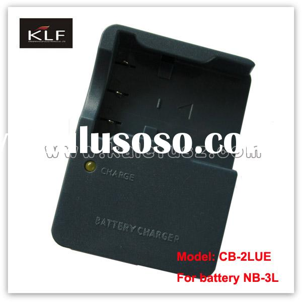 Camera charger CB-2LUE for Canon camera battery NB-3L
