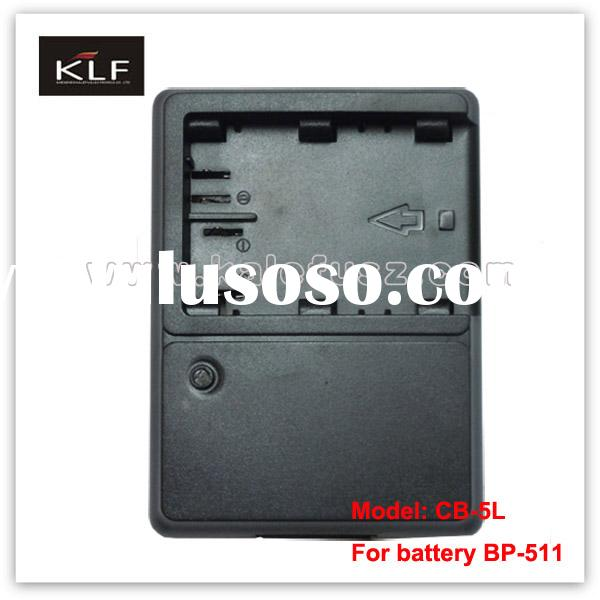 camcorder charger CB-5L for Canon camera battery BP-511