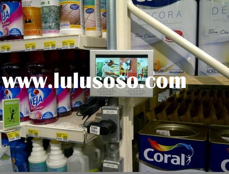 """7"""" in store advertising screens, retail video display,Small Lcd Video Monitor"""