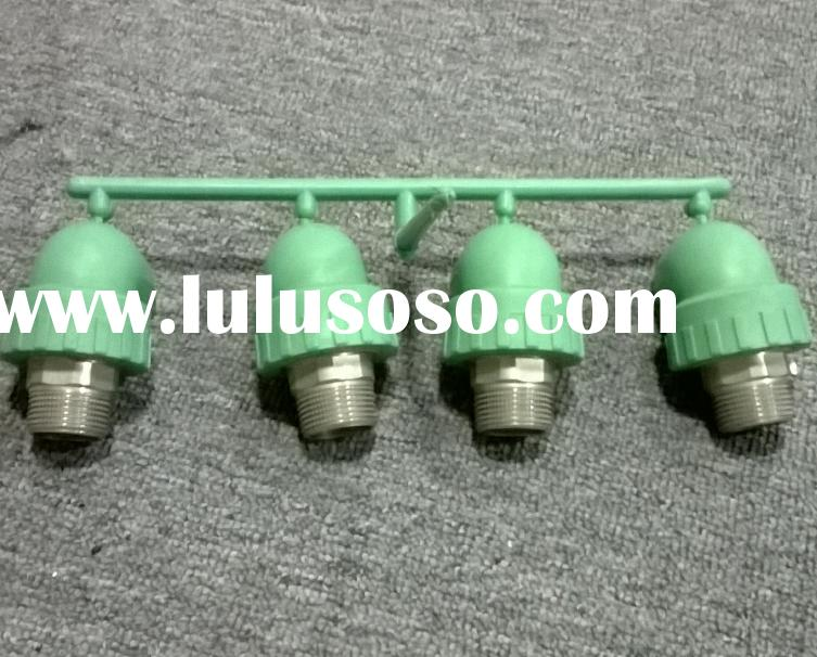 Plastic PPR male thread elbow pipe fitting injection mould