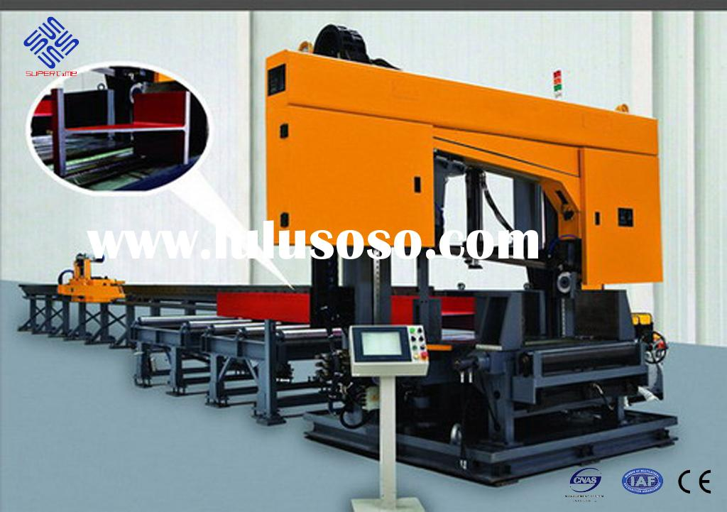 CNC rotation angle band saw for I beam  / CNC rotation beam cutting machine