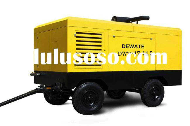 300cfm,14bar Trailer Air Compressor For Mining With Cummins Engine