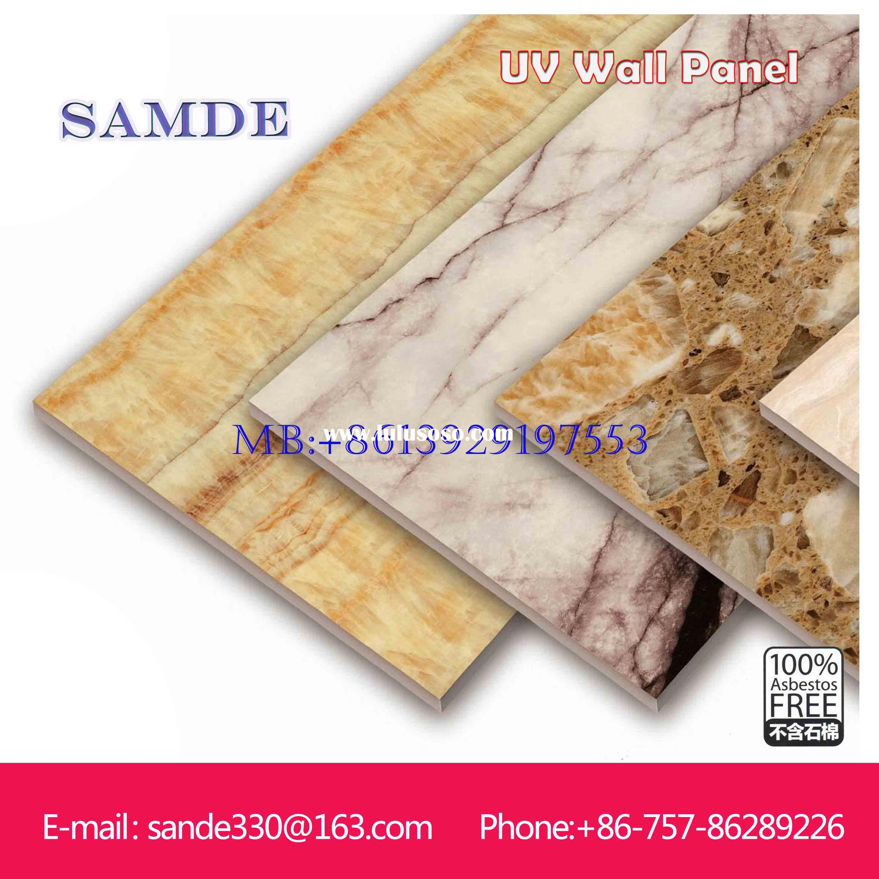 Best quality indoor decorative wall panel 2440*1220*6/8/9mm