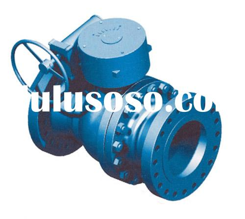 Reduced Bore Trunnion Mounted Ball Valve
