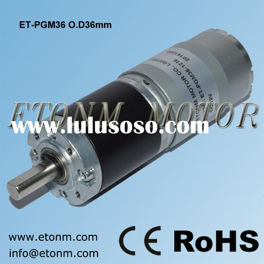 small electric metal gear motors planetary gearhead motor dc