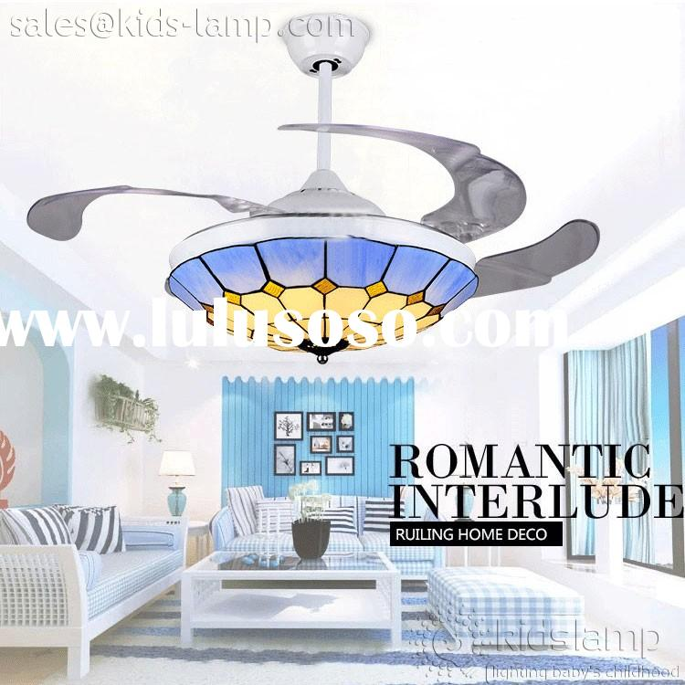 ceiling fan with tiffany light