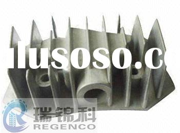 Die Casting for Cylinder Radiator, Made with ADC12 Aluminum and CNC Machining, Plating Surface