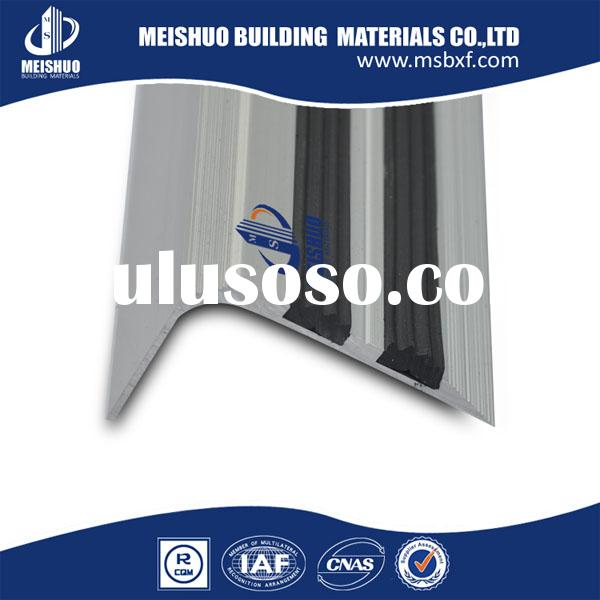Aluminium tile edging safety stair nosing made in China