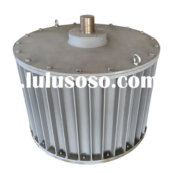 50 KW 60 KW low rpm brushless AC Permanent Magnet Generator