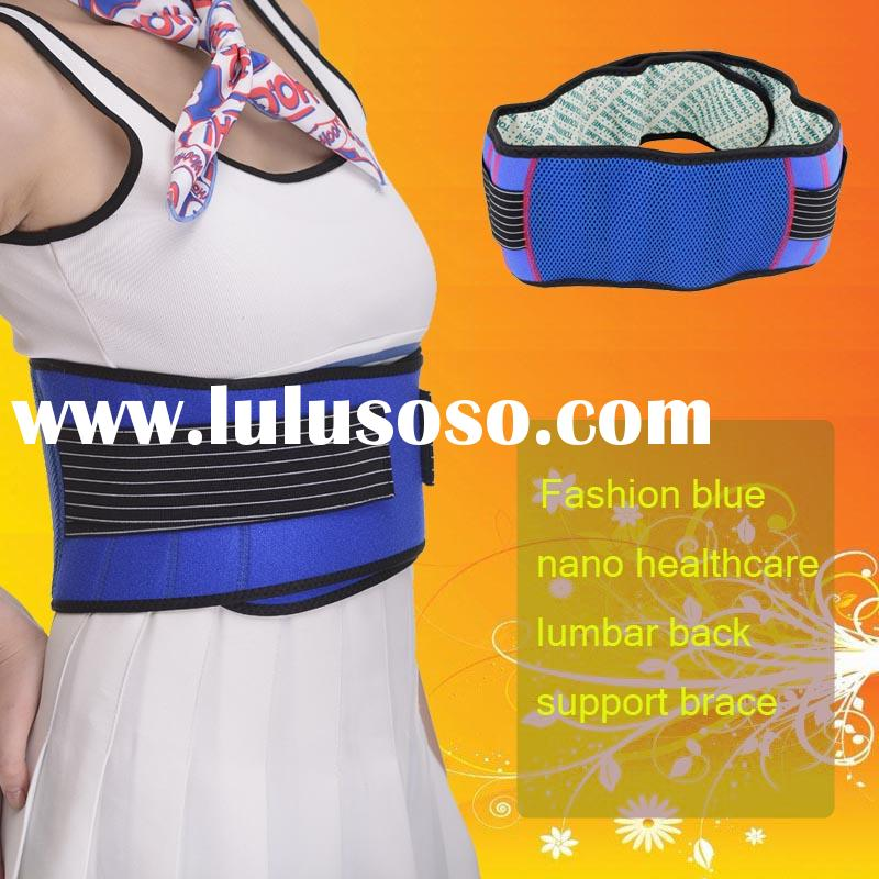 Magnetic therapy for back pain neoprene back support belt