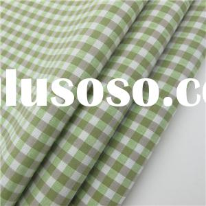 Wholesale Cotton Gingham Fabric For Shirt High Quality