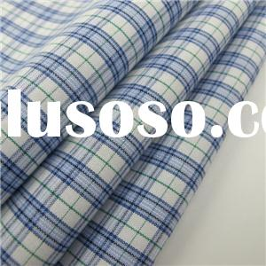 Yarn Dyed Combed Cotton Shirt Fabric Woven