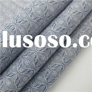 100% Cotton Jacquard Woven Fabric Latest Style