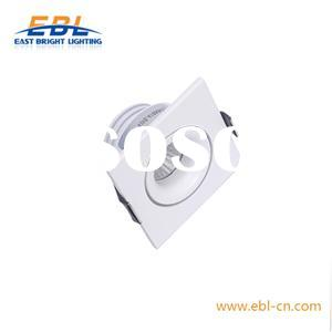 3W Square LED Under Cabinet Light With 45°/60° Lens Bridgelux COB LED