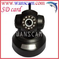 CCTV Wireless Alarm System with Pan Tilt IP Camera and Sensors with SD Card slot