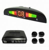 Wireless Parking Sensor with Small Crescent LED Display