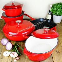 Cast iron pots and pans