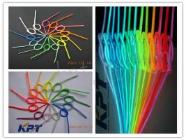 kpt soft and neon el wire,neon el rope,el raw material,el products