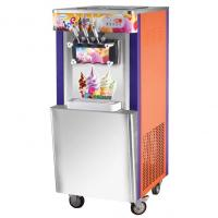 Upright Soft Sever Ice Cream Machine, Capacity 22~25 liters one hour