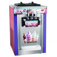 Desktop Soft Sever Ice Cream Machine Capacity 22~25 liters one hour
