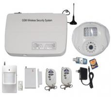 wireless home secuirty video camera alarm system FS-AME504