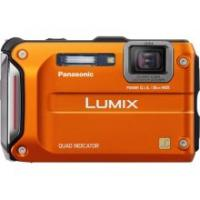Panasonic Lumix DMC-TS4 12.1 MP Digital Camera (Orange)