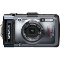 Olympus Tough TG-1 iHS 12 MP Digital Camera (Dark silver)