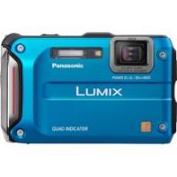 Panasonic Lumix DMC-TS4 12.1 MP Digital Camera (Blue)