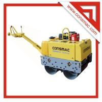 CONSMAC Hydraulic Walk Behind Double Drum Vibratory Road Roller