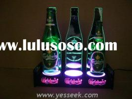 Lighting beer bottle stand