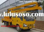 Isuzu aerial platform working trucks