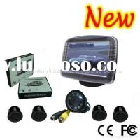 Video Parking Sensor with High Definition Camera and 4 Rear sensors (RD-735SC4)