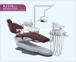 KJ-918 Dental Chair Unit with LED lamp light and scaler