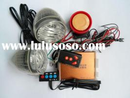 Motorcycle MP3 Independent alarm with LED light