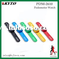 USB 3D pedometer watch PDM-2610